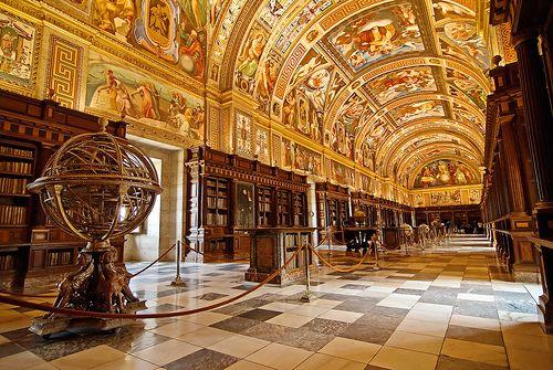 bibliotecas impresionantes del mundo el escorial